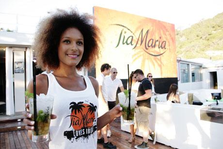 Presentacion del nuevo cocktail Tia Maria en Blue Marlin Ibiza
